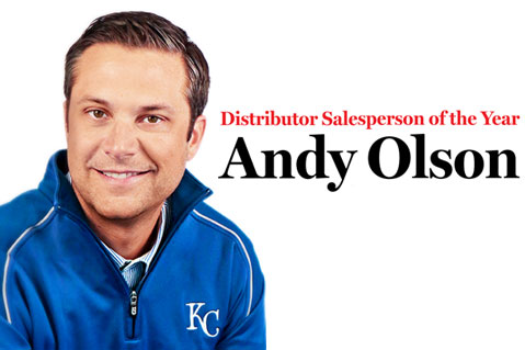 Distributor Salesperson of the Year - Andy Olson